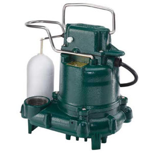 Picture of a sump pump