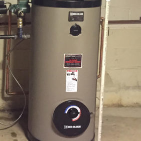 Picture of a hot water heater